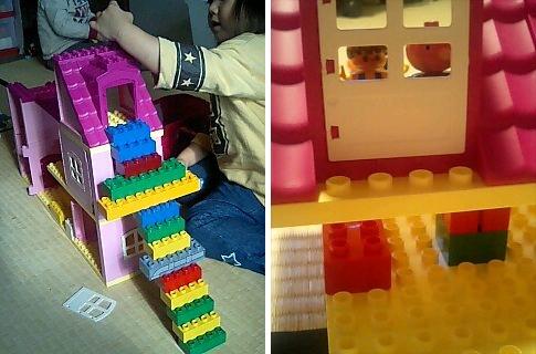 レゴで家を作る