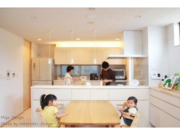 家族が笑顔になるキッチン