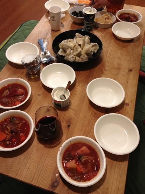 ロシア料理をつくる会