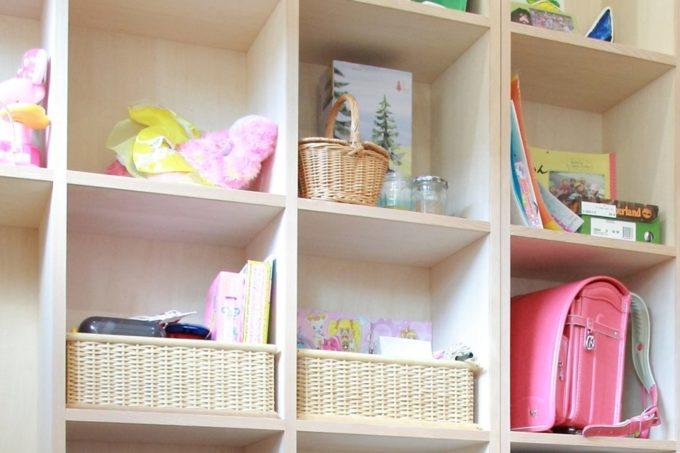 森を望む家の子ども部屋