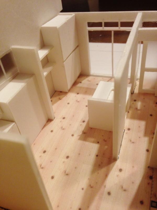 住宅模型はイメージが沸きやすい