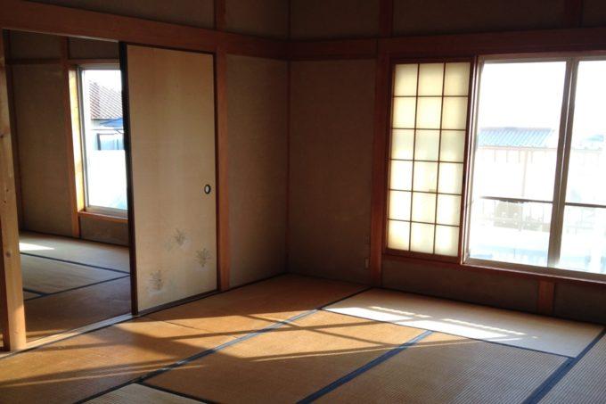 柚子の実る家