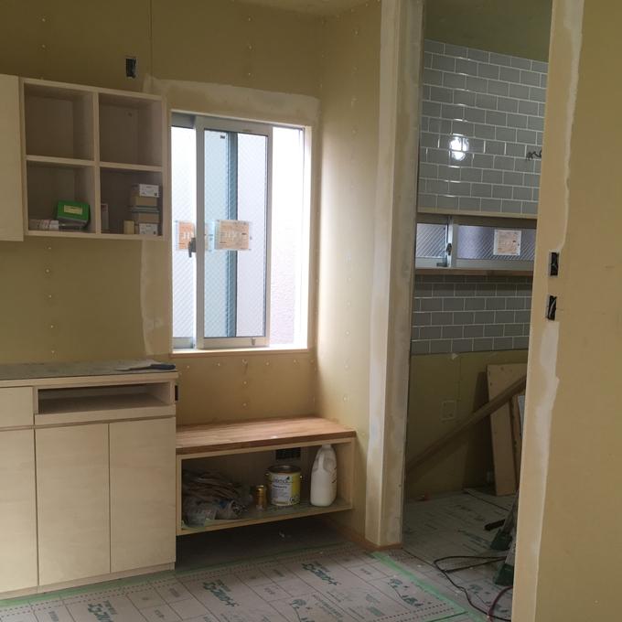 前の家に製作した家具