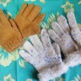 手編みの子ども用手袋