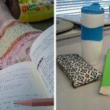 試験勉強中