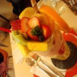 Fruit Cafe Saita! Saita!のパフェ