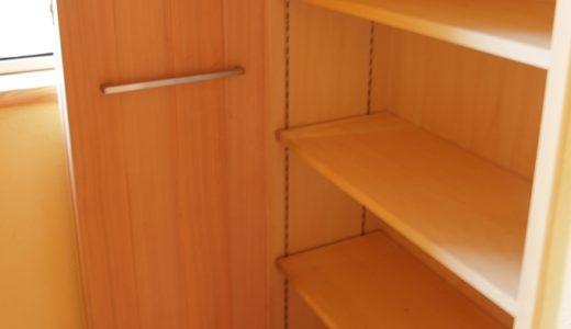 収納と家具は可変性のあるもので。