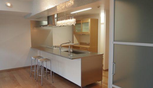 WEB内覧会*透明感のあるキッチン「スタイリッシュキッチンの家」工事完了!