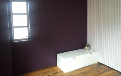 ファローアンドボールのペイントと壁紙をオフィスに使用