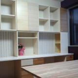 みゆう設計室事務所のワークデスク造作家具
