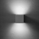 シラス壁と照明
