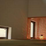 インナーテラスのある家の和室