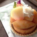 チェサピークの桃のケーキ