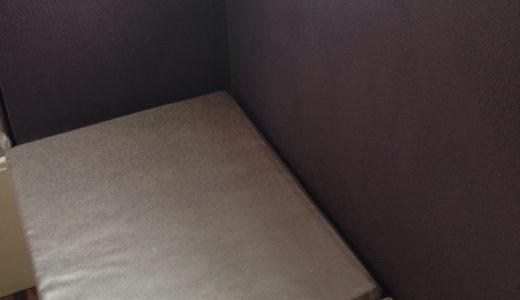 セルフペイントした壁の補修