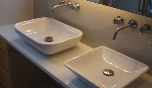 壁付の水栓~建築主のこだわりの水まわり