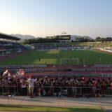 岐阜でサッカー観戦