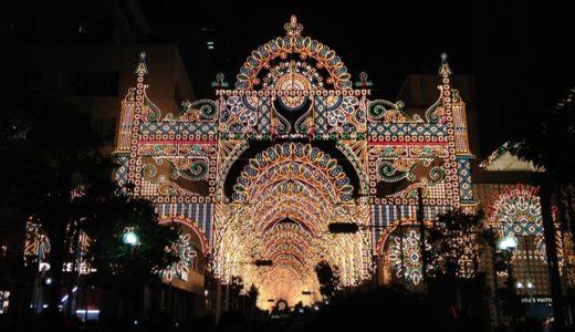 神戸の冬を彩るルミナリエ2013