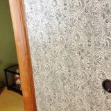 ウイリアムモリスの壁紙を使った襖