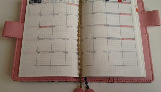今年の手帳もミナペルホネンカバーのほぼ日手帳