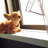 息子のおみやげの鹿