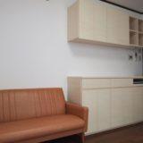 リビングの造り付け家具
