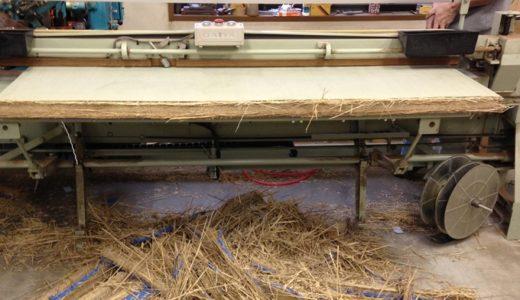 貴重な藁床、国産い草のたたみ