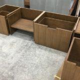 家具の塗装調整